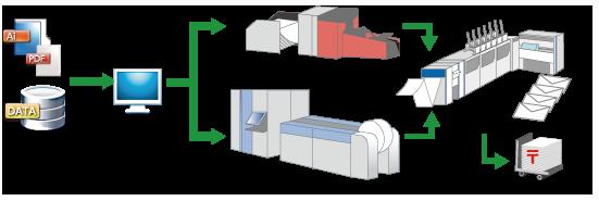 The variable printing process